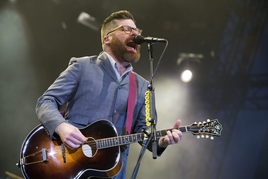 Colin Meloy of the Decemberists at the 2015 Sasquatch! Festival