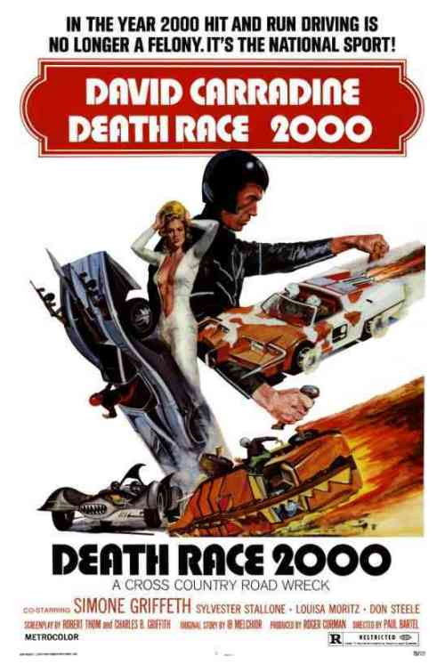 David Carradine in Death Race 2000