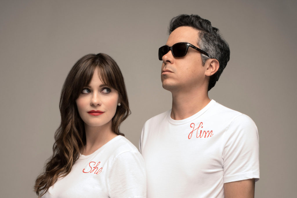 Zooey Deschanel and M. Ward are music duo She & Him