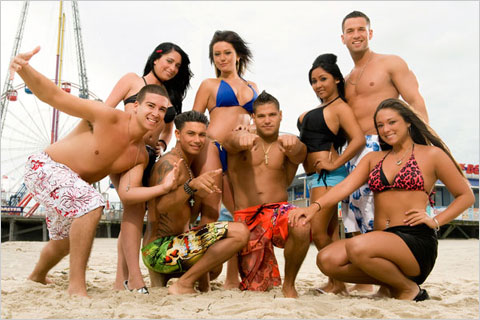 MTV's Jersey Shore;