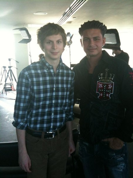 Michael Cera and Pauly D