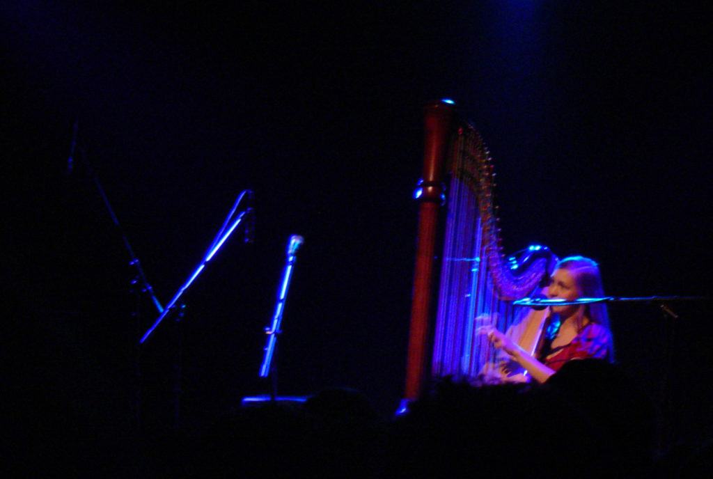 Joanna Newsom performing at the El Rey Theatre, Los Angeles, 2006