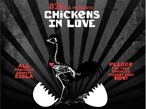 Chickens In Love
