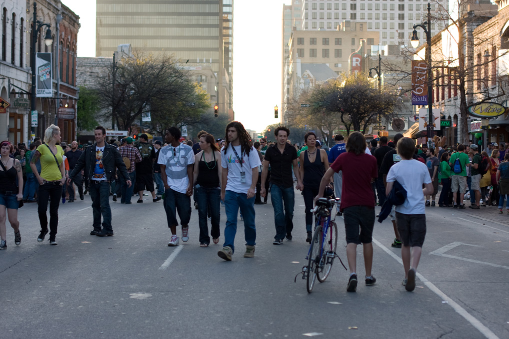 6th Street, Austin, SXSW