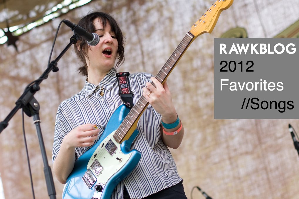 Rawkblog 2012 Favorite Songs of the Year