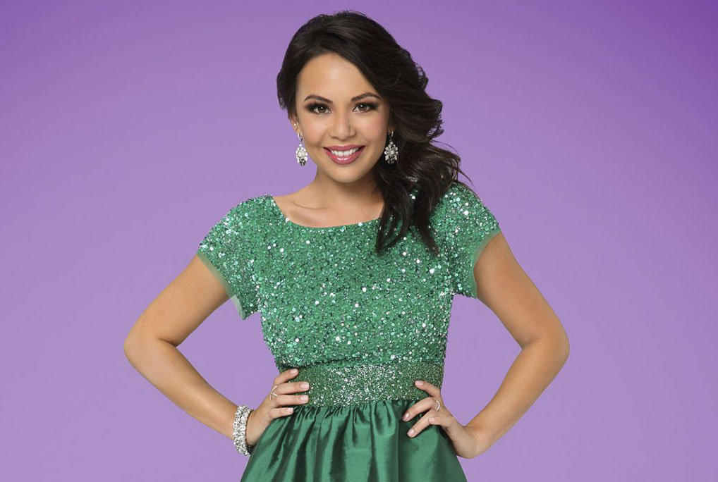 Janel Parrish on 'Dancing With The Stars'