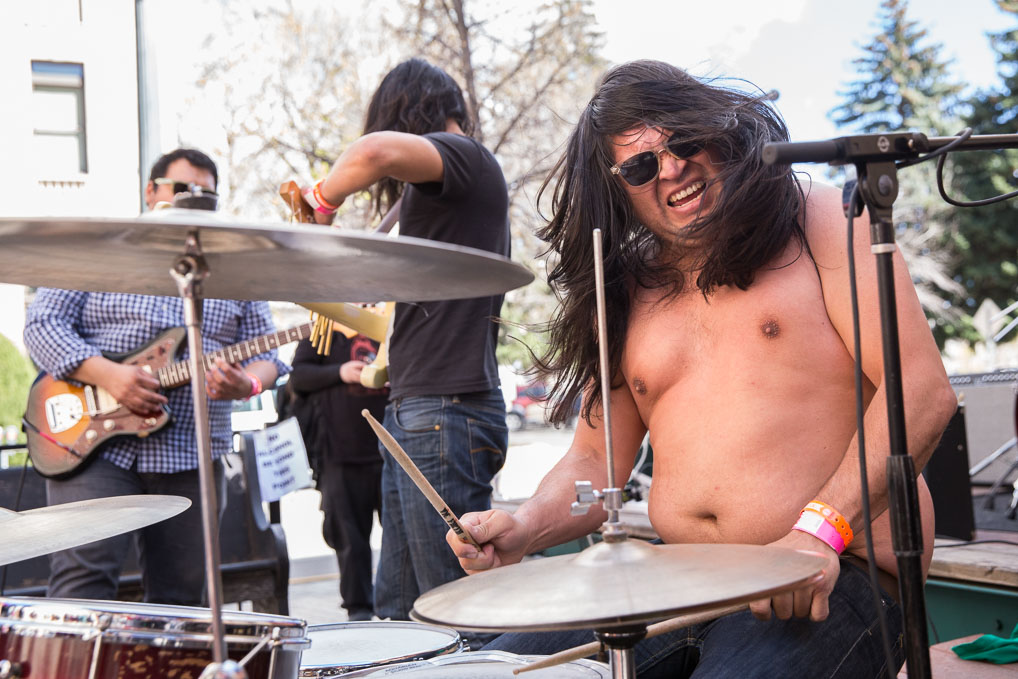 Papi Fimbres and Mascaras at Treefort Music Fest 2015