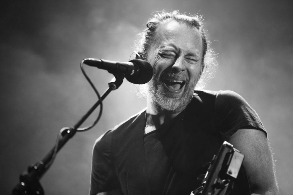 Radiohead in Portland in April 2017